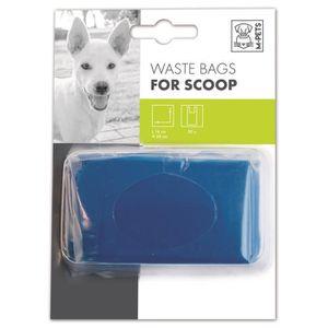 M-PETS Recharge sacs ? déjection Waste Bags - 3x10 sachets - 16x38cm - Bleu - Pour chien