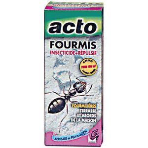 PRODUIT INSECTICIDE Fourmis liquide à pulvériser Acto