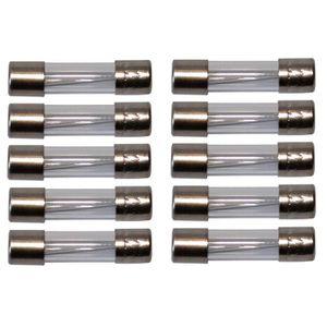 Lot de 10 fusibles rapides F 1,6A 250V 5x20mm