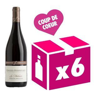 VIN ROUGE Crozes-Hermitage La Matinière 2015  vin rouge 6x75