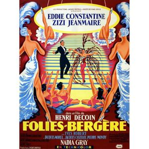 AFFICHE - POSTER FOLIES-BERGERES E Constantine reproduction affiche
