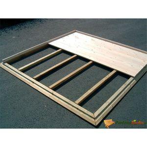 Chalet de jardin en bois avec plancher - Achat / Vente pas cher