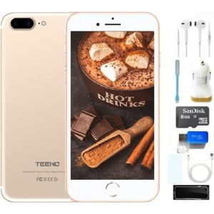 """SMARTPHONE TEENO 5.5"""" Smartphone 4G Débloqué Or (Android 6.0"""