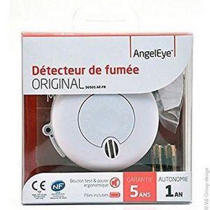 DÉTECTEUR DE FUMÉE 5 Angel Eye Détecteur de fumée photoélectrique NF