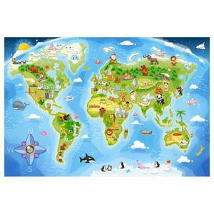 PUZZLE Puzzle Maxi 40 pièces : Carte du monde