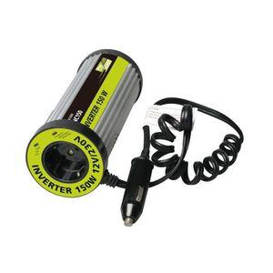 CONVERTISSEUR AUTO Convertisseur 12V/220V 150W - Format canette - INC