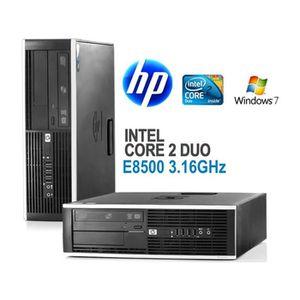 UNITÉ CENTRALE  HP Compaq 6000 Pro - Core 2 Duo E8500 3.16 GHz - 4