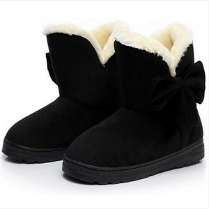 Bottine Femme Hiver Comfortable Peluche Classique Boots ZX-XZ014Marron-35 Ro3l3GO