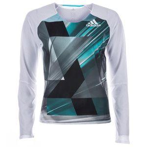 T-SHIRT T-shirt de course à manches longues adidas Adizero 565e5f44d800