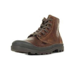 BOTTINE Boots Palladium Pampa High Leather Sunrise