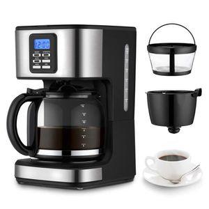 MACHINE À CAFÉ Machine à café réservoir 1500 ml cafetière