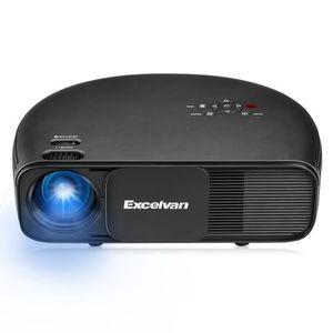 Vidéoprojecteur Excelvan Vidéoprojecteur CL760 3200 Lumens LED Des