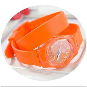 MONTRE BAGUE Montre-bracelet de femme Mode longue ceinture Gel 1723a68b6df