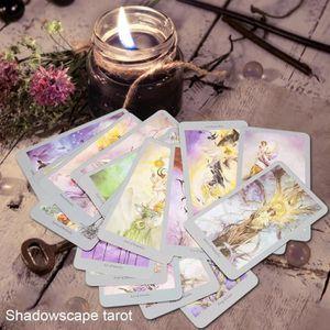 CARTES DE JEU Jouet de cartes de tarot coloré d'anglais pour enf