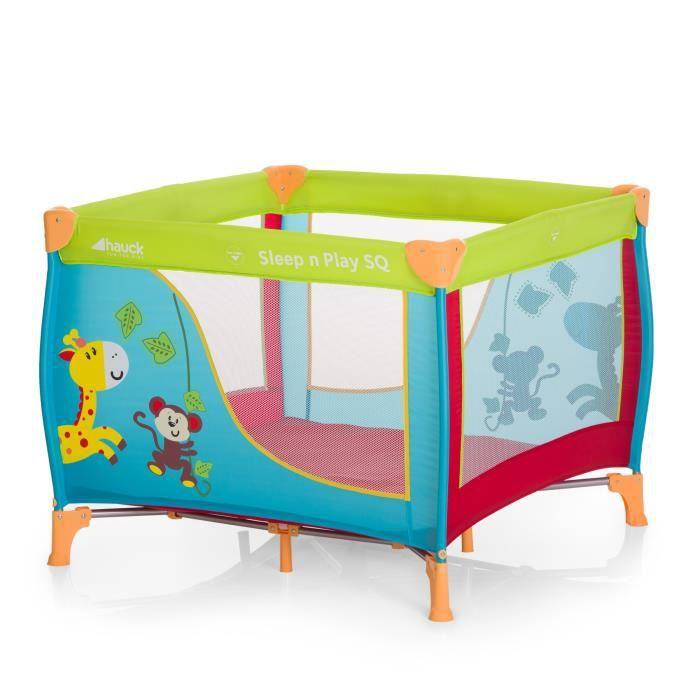 HAUCK Parc bébé Sleep N Play SQ Jungle Fun