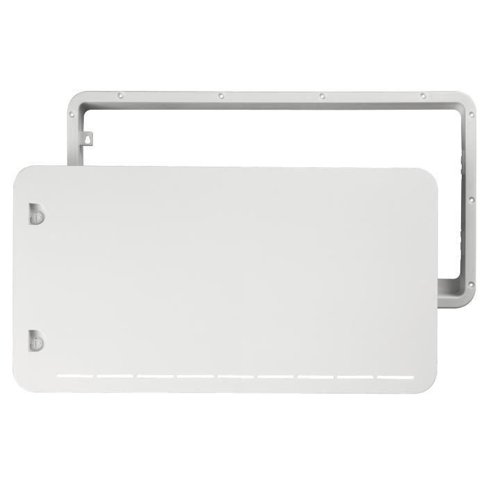 DOMETIC Kits d'hiver pour modèles simple porte et double porte caches de remplacement blanc haut / bas, pour LS100 / LS200