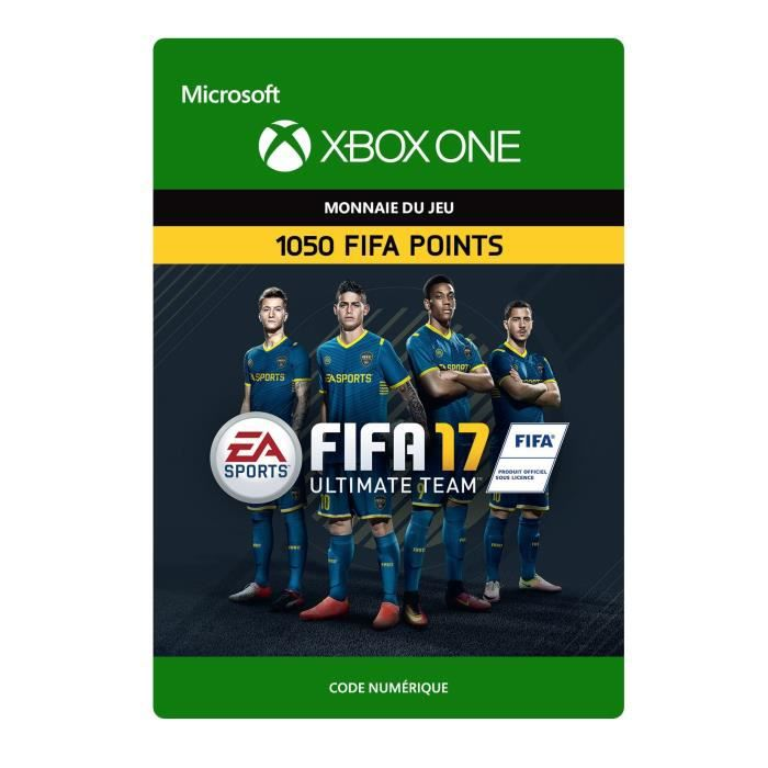 FIFA 17 Xbox One : 1050 Points