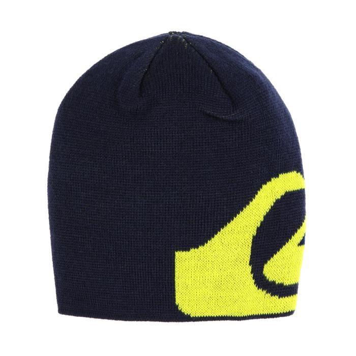 QUIKSILVER Bonnet Lunay Beanie - Enfant - Bleu et jaune