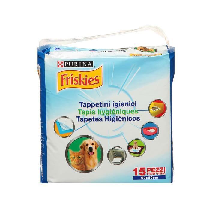 FRISKIES Tapis hygiénique - pour chien et chat - x15