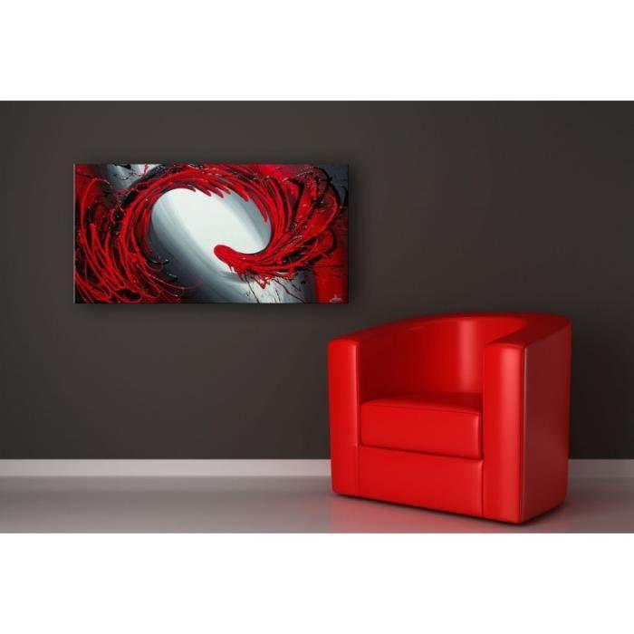 Tableau Peinture Rouge Abstrait - Achat / Vente tableau - toile ...