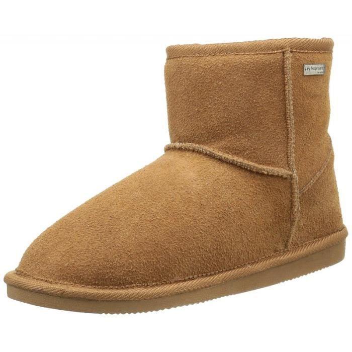 Boots flocon beige 4OuTPk