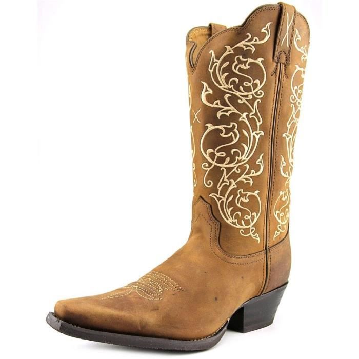 Western Scroll Embroidered Cowgirl Boot Snip Toe - Wwt0022 G4XAE Taille-41
