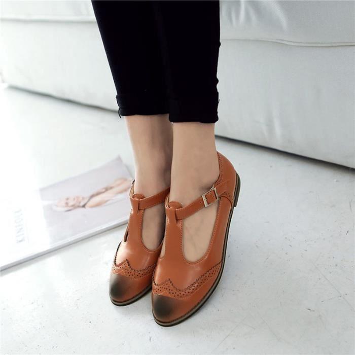 Chaussures Femme élégante En PU Cuir Toutes les pointures de la 35 à la 43