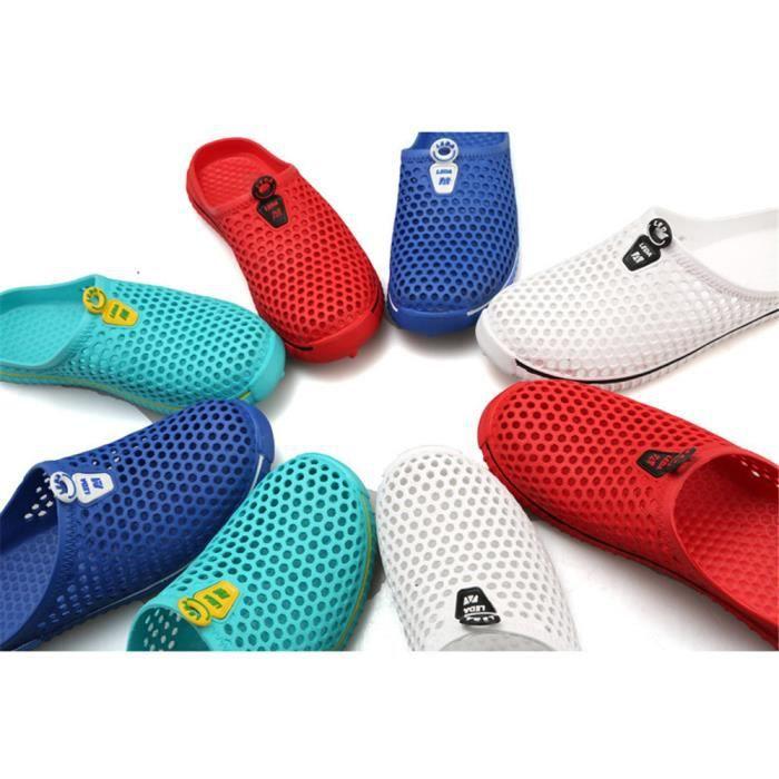 pantoufle été personnalité hommes de chaussures d'été sandales Nouvelle Mode sandales plages homme Respirant Plus De Couleur