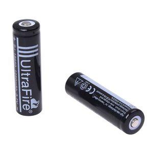 PILES Nouvelle 2pcs 18650 3.7V 1250mAh Lithium rechargea