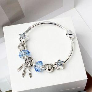 BRACELET - GOURMETTE 20CM Dream Catcher Net Style Pandora bracelet femm