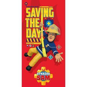 SERVIETTES DE BAIN Serviette de bain Sam le Pompier Saving