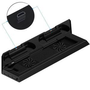 DOCK DE CHARGE MANETTE Support multifonction PS4 verticale avec refroidis