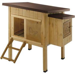 POULAILLER HEN HOUSE 10 Poulailler en bois 124 x 98 x 110 cm