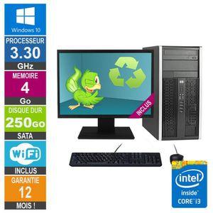 UNITÉ CENTRALE  PC HP Pro 6300 MT Core i3-3220 3.30GHz 4Go-250Go W