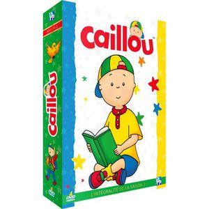 DVD DESSIN ANIMÉ Caillou - Intégrale de la saison 2 (Coffret 4 DVD)