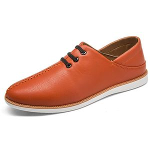 Mocassin Hommes Mode Chaussures Grande Taille Chaussures BSMG-XZ73Orange36 YOYvc