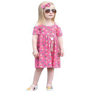 Fille lunettes ananas robe de harnais imprimé 80 Rose Rose - Achat ... a711c56c4e63