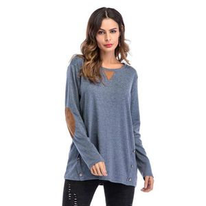 88963de5755 PULL Pull Sweat-shirt Femme Grand Taille Col Rond Coule