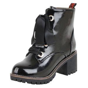 Chaussures la Slip Tied bout femme à rond Anti de Croix W29eEYDHIb