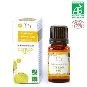 HUILE ESSENTIELLE Huile essentielle - Citron BIO - 10 ml avec packag
