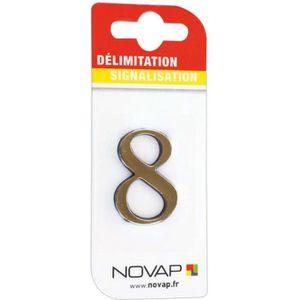 CONE - RUBAN CHANTIER Adhésif plastique en relief coloris or Novap - 8