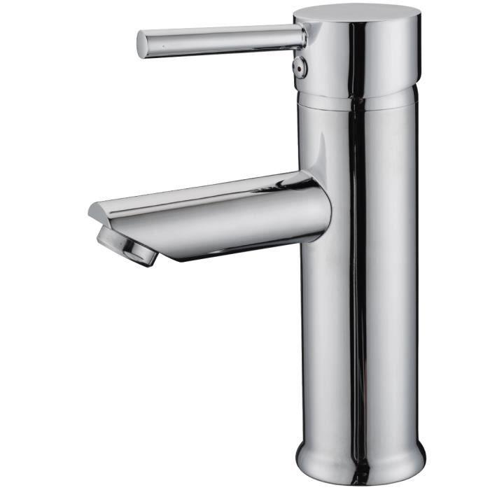 Mitigeur lavabo chrome Deco