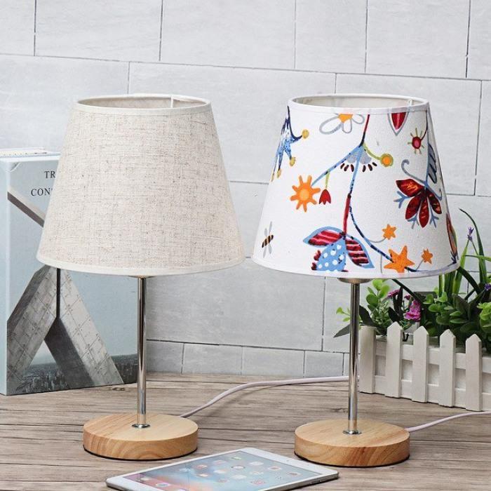 Bois Blanc Bureau Version Éclairage De Lampe Led Table En E27 ImY7gyv6bf