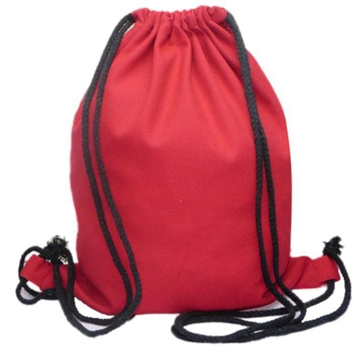 Sacs À Backpack Rw21 Unisexe Bags Solid Drawstring Rd Dos 1204 rrgwCdq