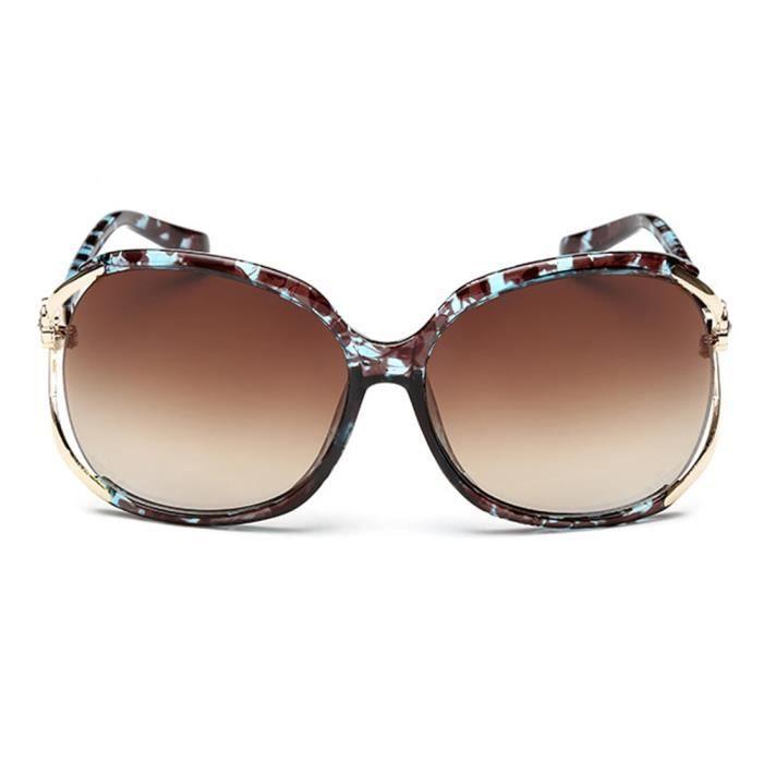 Toad de mode Goggle de UV400 soleil féminine sunglasses Modèles Lunettes 4wqYIxB4f