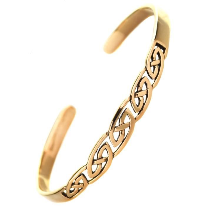 bracelet en bronze celte celtique breton knot breizh bretagne game of fait main