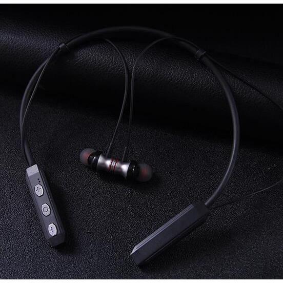Écouteurs Bluetooth Sans Fil Étanches Neckband Casque De Sport Stéréo