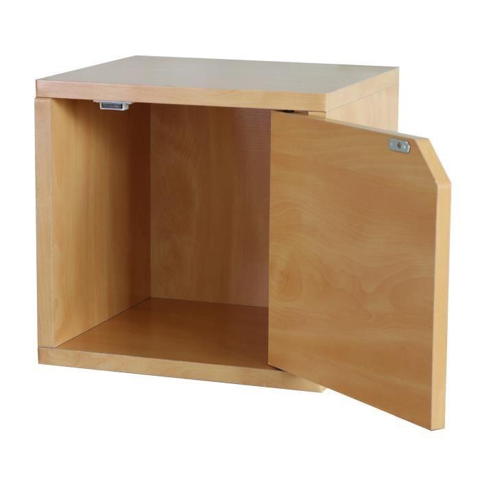 EtagÈre Murale Étagère Cube M73 Combinable Avec Porte 34x29x33