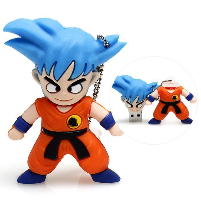 64 go cl usb dragon ball son goku bleu prix pas cher cdiscount. Black Bedroom Furniture Sets. Home Design Ideas