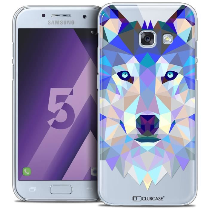 coque samsung galaxy a5 2017 a520 extra fine polygon animals loup achat coque bumper pas. Black Bedroom Furniture Sets. Home Design Ideas